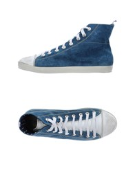 Fef Footwear High Tops And Trainers Men Pastel Blue