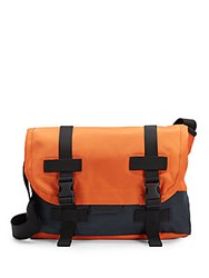 Marc Jacobs Fake It 'Til You Make It Messenger Dark Orange