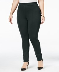 Styleandco. Style Co. Plus Size Seamed Leggings Only At Macy's Carbon Grey