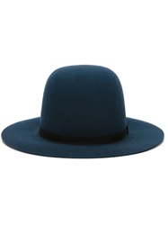 Humanoid Wide Brim Hat Blue
