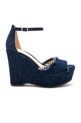 Vince Camuto Tatchen Wedge Blue