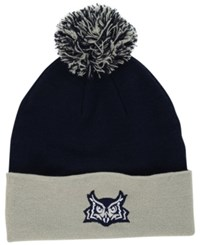Top Of The World Rice Owls 2 Tone Pom Knit Hat