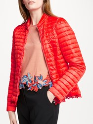 Marc Cain Down Quilted Puffer Jacket Flame