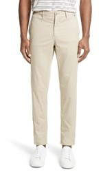 Norse Projects Men's Slim Fit Cotton Twill Chinos