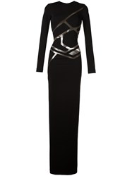 Philipp Plein 'Kali' Gown Black