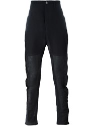 Individual Sentiments Tapered Trousers Black
