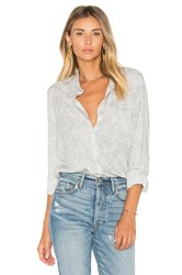 Soft Joie Anabella Button Up Light Gray