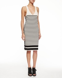 Rag And Bone Avila Striped Racerback Dress