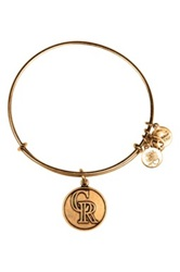 Alex And Ani 'Colorado Rockies' Expandable Charm Bangle Metallic