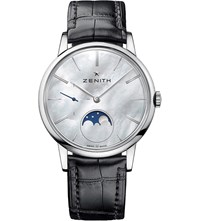 Zenith 03232069280C714 Elite Mother Of Pearl Moonphase Watch
