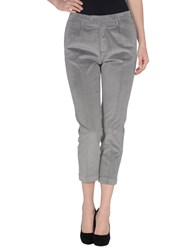 Monocrom Trousers 3 4 Length Trousers Women Grey