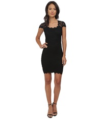 Alejandra Sky Short Cap Sleeve Dress Black Women's Dress
