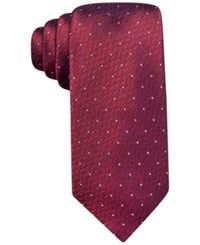 Ryan Seacrest Distinction Modern Neat Slim Tie Only At Macy's Red