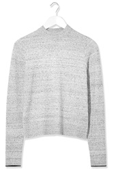 Space Dye Jumper By Boutique Grey Marl