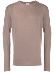 Peuterey Long Sleeved Sweater Brown
