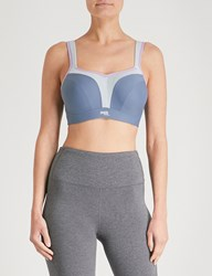Panache Wired Stretch Jersey Sports Bra Grey