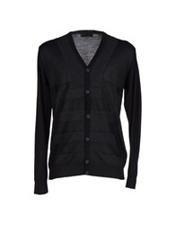 Hamaki Ho Knitwear Cardigans Men Steel Grey