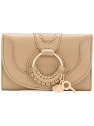 See By Chloe Hana Wallet Nude And Neutrals