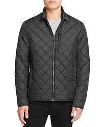 Cole Haan Quilted Nylon Jacket Black