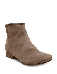 Dolce Vita Taj Suede Ankle Boots Taupe