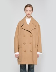 J.W.Anderson Oversized Double Breasted Coat Camel