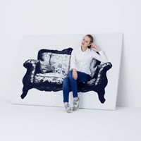 Innermost Canvas Sofa Multicolor