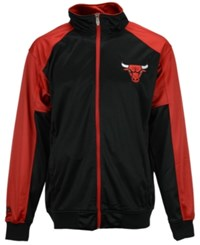 Majestic Men's Chicago Bulls Geo Track Jacket
