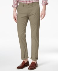 Ben Sherman Men's Slim Fit Stretch Chinos Only At Macy's Stone
