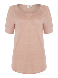 Noa Noa T Shirt With Short Sleeve Rose
