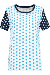 J.W.Anderson Polka Dot Cotton Jersey T Shirt Black
