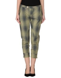 E Go' Sonia De Nisco Casual Pants Military Green