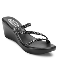 Callisto Shana Wedge Sandals Women's Shoes Black