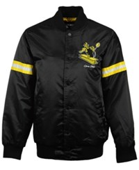 G3 Sports Men's Pittsburgh Steelers Starter Satin Jacket Black Yellow