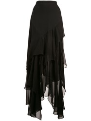 Michael Kors Scarf Skirt Black