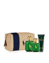 Polo Ralph Lauren Three Piece Polo Eau De Toilette And Classic Travel Kit No Color
