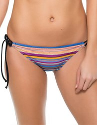 Oakley Pacific Stripe Tunnel Bikini Bottom Multi Colored