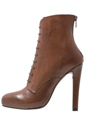 Mai Piu Senza Platform Boots Golden Brown