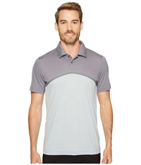 Puma Tailored Color Block Polo Quarry Men's Short Sleeve Knit Brown