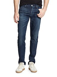 3X1 M3 Selvedge Straight Slim Fit Jeans Woodlands