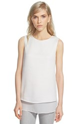 Women's Cooper And Ella Textured Sleeveless Top White