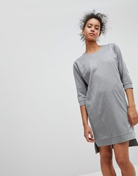 Moss Copenhagen Jumper Dress Light Grey Melange