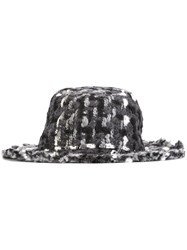 Dolce And Gabbana Boucle Hat Multicolour