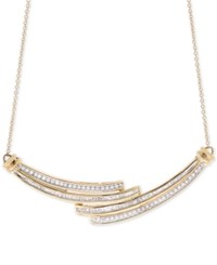 Wrapped In Love Diamond Statement Necklace 1 2 Ct. T.W. 10K Gold Only At Macy's Yellow Gold