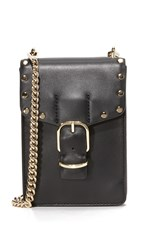 Rebecca Minkoff Biker Phone Cross Body Bag Black