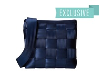 Harveys Seatbelt Bag Mini Messenger Indigo 1 Cross Body Handbags Navy