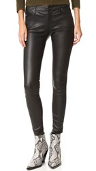 Ag Jeans The Leather Legging Super Black