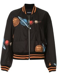 Undercover Planets Bomber Jacket Black