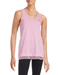 Nanette Lepore Braided Knit Tank Top Pink
