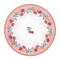 Pip Studio Cherry Side Plate Pink