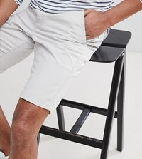 French Connection Tall Chino Shorts Stone